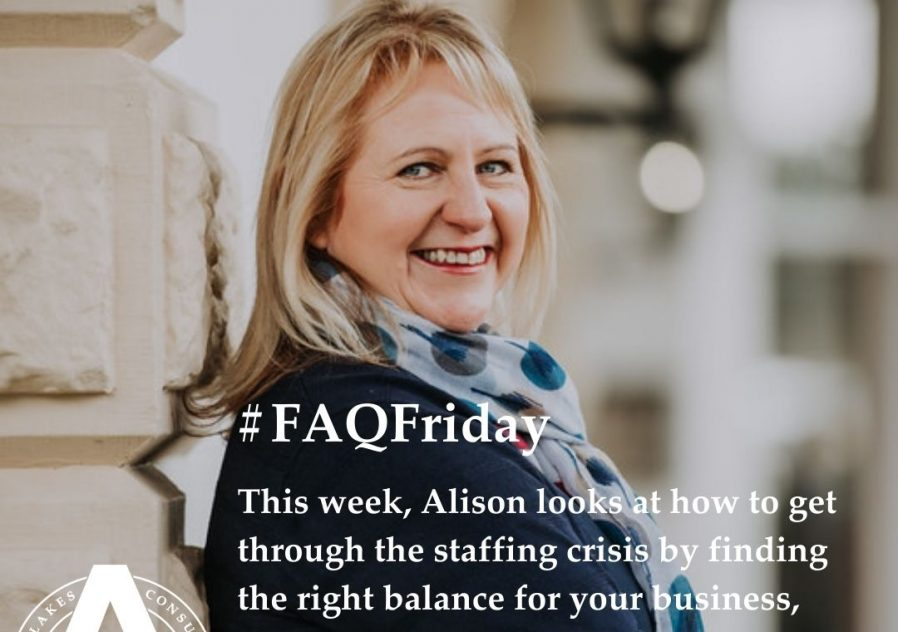 #FAQFriday - Finding the right balance for your business, and the importance of mental health awareness