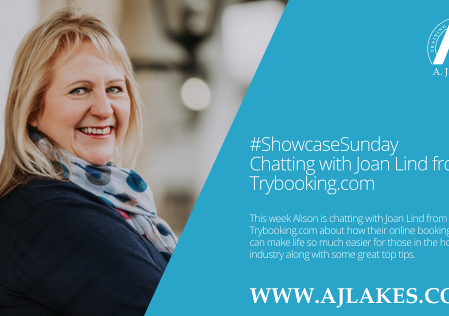 #ShowcaseSunday with Joan Lind of Trybooking