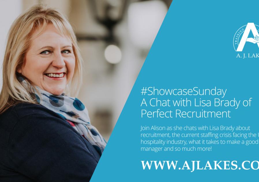 #ShowcaseSunday - Lisa Brady of Perfect Recruitment